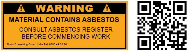 MCG - QR codes as asbestos warning labels