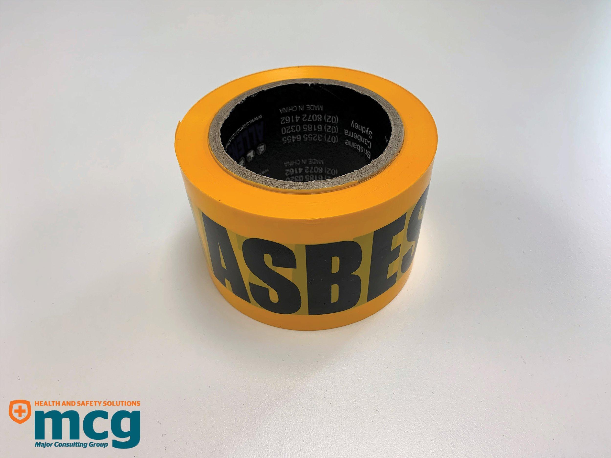Asbestos Barrier Tape